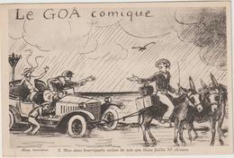 Dav : Illustrateur : Le  GOA  COmique ,  Voiture- Ane , On Tire! - Illustrateurs & Photographes