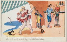 Dav :illustrateur  :  TO , Femme  Danse  Avec  Monsieur , Le Boogie Woogie  ! 1949 - Illustrateurs & Photographes