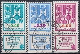 ISRAEL 1983 Nº 860/62 USADO CON TAB - Israel