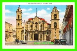 HABANA, CUBA - COLUMBUS CATHEDRAL - ANIMATED -  PUB. BY ROBERTS & CO - - Cuba