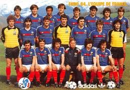 L'Equipe De France De Football En Stage à Font-Romeu - Euro 84 - Platini, Rocheteau, Hidalgo, Giresse, Fernandez, Bossis - Football