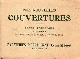 COUZE SAINT FRONT  -  PAPETERIES PIERRE PRAT  -  Nuances - Imprimerie & Papeterie