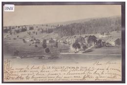 DISTRICT DE LA VALLEE - LE SOLLIAT - TB - VD Vaud