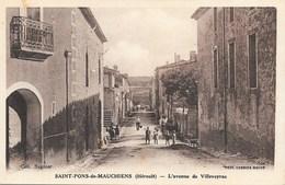 Saint-Pons-de-Mauchiens NA2: L'avenue De Villeveyrac - Saint-Pons-de-Mauchiens