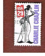STATI UNITI (U.S.A.) - SG 2888  - 1994 SILENT SCREEN STARS: C. CHAPLIN   - USED - Usati