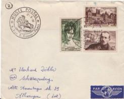 FRANCE :  1951 - Musée Postal Sur Lettre Pour L'Allemagne - Lettres & Documents