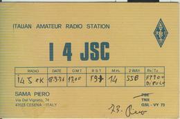 CESENA (FORLI) - RADIO AMATORIALE- 18 SETTEMBRE 1976 - - Radio Amateur