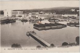 DAV :  Tunisie :  BIZERTHE  : La  Baie   Ponty , Caserne  Des  Marins - Tunisie