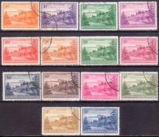 Norfolk Island 1947-59 SG #1-12a Compl.set Used Ball Bay - Norfolk Island