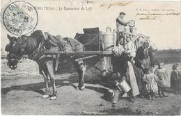 SAINTES (17) Les Petits Métiers Ramasseur De Lait Attelage Gros Plan - Saintes