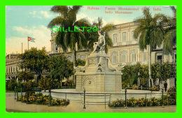 HABANA, CUBA - FUENTE MONUMENTAL DE LA INDIA - INDIA MONUMENT - PUB. BY C. JORDI - - Cuba