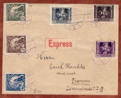 Express, Satzbrief, Legionaersmarken, Wigstadtl Nach Troppau 1919 (71021) - Covers & Documents