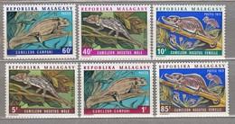 Malagasy 1973 Fauna MNH(**) Mi 683-688 #24076 - Timbres