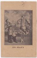 Les Eclips . Carte Postale Ancienne . Noir Et Blanc . Tachée Recto / Verso . - Danse