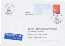 FRANCE : Prêt à Poster Réponse - Polynésie (Tuamotu) -  Oeuvres Hospitalières Françaises De L'ordre De Malte - Prêts-à-poster: Réponse /Luquet