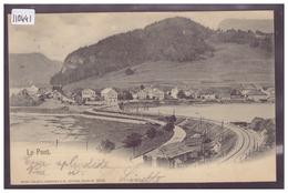 DISTRICT DE LA VALLEE - LE PONT - TB - VD Vaud