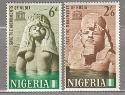 NIGERIA 1964 UNESCO MNH(**) Mi 148-149 #24079 - Nigeria (1961-...)