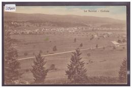 DISTRICT DE LA VALLEE - LE SENTIER - GOLISSE - TB - VD Vaud