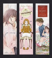 3 Marque Page.  Manga.   Editions Akata. - Marque-Pages