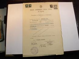 PARMA    --- MARCA  UNIVERSITA' --- FISCALE    --- L.  3,00 - Fiscales