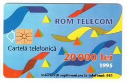 TESSERA ROM TELECOM 20000 LEI 1995 (ROMANIA ) - Romania