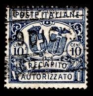 "1928 Italy ""Auhorized Delivery Stamp"" - 1900-44 Vittorio Emanuele III"