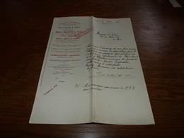 Document  Commercial Facture Emile Delaite & Fils Liège 1906 Maison Neujean Delaite - Belgique
