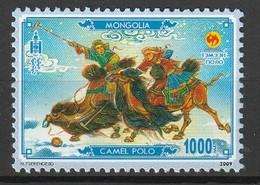 MONGOLIE - N°2863 ** (2009) Sport : Polo - Mongolie