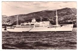 """PAQUEBOT """"GENERAL LECLERC"""" Cie Maritime Des Chargeurs Réunis  (carte Photo) - Paquebots"""