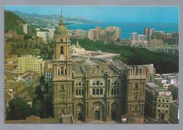 ES.- MALAGA. Vista Aérea. Aerial View. Vue Aérienne. Kathedraal Van Malaga. Ongelopen. - Kerken En Kathedralen