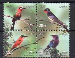 EGYPTE - EGYPT - 2002 - OISEAUX - BIRDS - Bloc - - Egypt