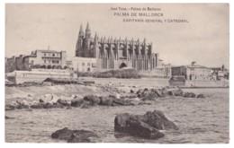 PALMA DE MALLORCA - Capitania General Y Catedral - Palma De Mallorca