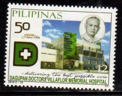 PHILIPPINES, 2018, MNH, HEALTH, DAGUPAN DOCTORS' VILLAFLOR MEMORIAL HOSPITAL, 1v - Health