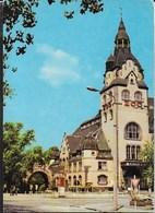GERMANY - LIEPZIG - KONGRESSHALLE - ZOO - VIAGGIATA  1980 FRANCOBOLLO ASPORTATO - Leipzig