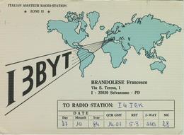 SELVAZZANO (PADOVA) - RADIO AMATORIALE- 27 OTTOBRE 1984 - - Radio Amateur