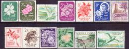 Norfolk Island 1960-62 SG 24-36 Compl.set Used Australian Post Office - Norfolk Island
