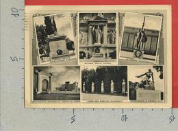 CARTOLINA VG ITALIA - ASSOCIAZIONE NAZIONALE COMBATTENTI - Adunata Roma 1938 Ventennale - 10 X 15 - ANN. 1942 - Monumenti Ai Caduti