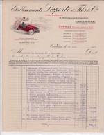 31-Ets Laporte & Fils & Cie Carrossiers  Toulouse (Haute-Garonne) 1915 - Automobile