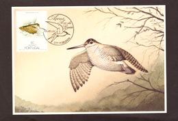 Portugal 1988 - Birds Of Açores 60$00  Postcard   Subscrito 1°dia - 1910-... Republic