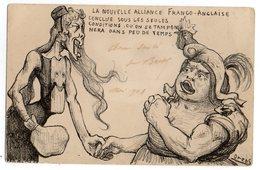 CPA SIMPLE   ILLUSTRATEUR ORENS   1903        LA NOUVELLE ALLIANCE FRANCO ANGLAISE - Orens