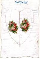- Belle FANTAISIE à Système - Ajoutis Collés, Fleurs (2 Scans)   -19086- - A Systèmes
