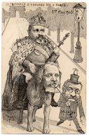 CPA SIMPLE   ILLUSTRATEUR ORENS   1903        LE TRIOMPHE D EDOUARD VII A PARIS - Orens