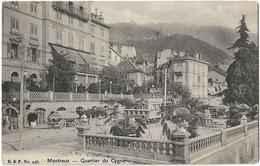 SUISSE MONTREUX QUARTIER DU CYGNE 436 - VD Vaud