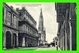 HABANA, CUBA - AVENIDA SIMON BOLIVAR, REINA - BOLIVAR OR REINA AVENUE  - ANIMATED - EDICION JORDI - - Cuba
