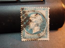 TIMBRE Napoléon III EMPIRE.FRANC  20 C Oblitéré. Cachet - 1862 Napoleon III