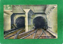 NEW YORK CITY. Pennsylvania Tunnel R.R Under The Hudson River CPA Année 1912 - Etats-Unis