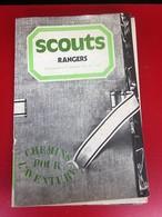 REVUE SCOUT RANGERS 1975 N°33 CHEMINS POUR L'AVENTURE Scoutisme JAMBOREE FIER DE SA FOI-PHOTOS DIVERSES-PUBS EPOQUE - Scoutisme