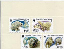 RUSSIE 1987 / Superbe Série 4 Valeurs Dentelées MNH - Préservation Des Régions Polaires & Glaciers