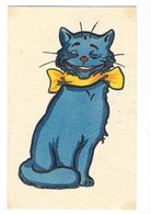 MM VIENNE MUNK Carte Illustrée Chat Bleu - Illustrateurs & Photographes
