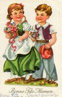 - Belle FANTAISIE  - Ajoutis Collés, 2 Beaux Enfants   -19091- - A Systèmes